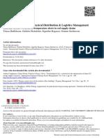 Criteria for Temperature Alerts in Cod Supply Chains2