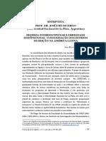 Consolidação Dos Estudos de Edição