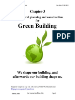 E4-E5 Architecture Chapter-3 Architecture Planning for GREEN BUILDING CONCEPT