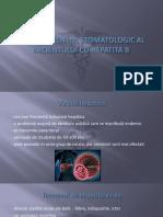Managementul stomatologic al pacientului cu Hepatita B