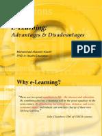 Dr.kaveh E-Learning Adv x Disadv