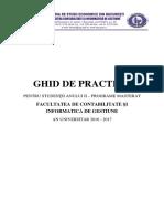 Ghid de Practica - MASTERAT CIG 2016 2017