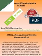 Valid F2 CIMA Braindumps - F2 Dumps PDF Exam Questions CimaDumps