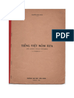 Nguyen Khac Kham - Tieng Viet Nom Xua