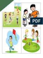 Kid Fun Activities Card
