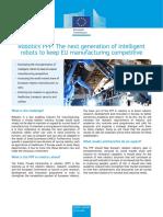 Robotics Factsheet