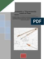 Cuaderno de Trabajo de Geometria y Trigonometra