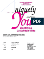 Uniquely You Spiritual Gifts Gk 23