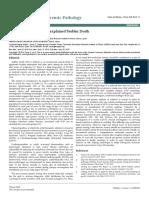 Molecular Autopsy in Unexplained Sudden Death Jfp 1000e102