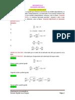 3. Ecuaciones Diferenciales 2017 - II