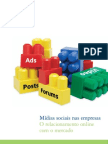 Relatório Deloitte sobre investimento das empresas em redes sociais onlne