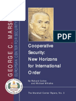 Cooperative Security New Horizons for International Order