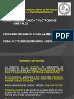 4. Flotación, Definición e Historia.ppt