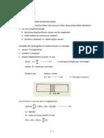 Supplementary Notes - Chapter 4 - Lattice Vibration