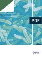 Novagen Competent Cells Brochure