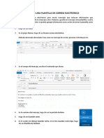 Crear Una Plantilla en Outlook