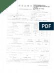 Material Certificate for Fastener