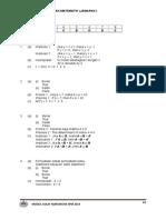 Modul 11 Penaakulan Matematik Jawapan
