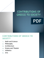 greece contributions to civilization