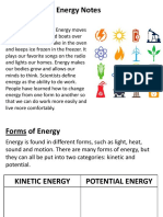 Energy and Heat Transfer REVIEW PPT