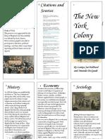 colonial brochure- new york  1