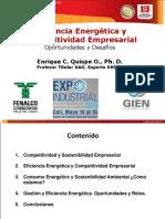 EE y Competitividad Empresarial Expoindustrial 2014