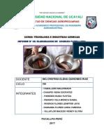 Informe -5- Chorizo Parrilleo