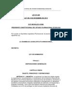 Ley 449 - Ley de Bomberos.pdf