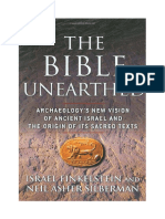 Finkelstein Israel_The Bible Unearthed