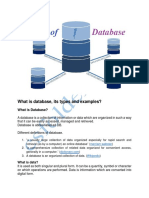 What Are Database Types