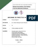 PRACTICA 3 y Diuréticos de Asa y Digitálicos