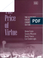 Susana Mourato, David Pearce, Ece Ozdemiroglu the Price of Virtue the Economic Value of the Charitable Sector