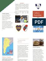 Triptico Argentina