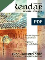 Revista Literaria El Rendar - Año 1 - Número Cero