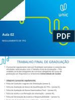 Regulamento de TFG