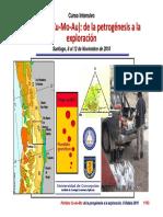 Petrogénesis de Sistemas Porfídicos Del Orógeno Andino
