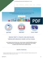 Bisnis Tiket Pesawat Online Untuk Usaha Tiket Dan Agen Travel - TravGO
