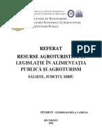 Referat resurse agroturistice1