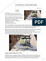 Injeksi Epoxy Beton Anti Bocor, Kuat & Berkualitas — ☎ 0821 1372 4737
