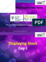 2. Stock Movement and Display