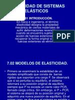 Estabilidad de Sistemas Elásticos
