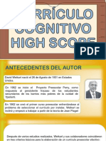 CURRÍCULO-COGNITIVO DE HIGH SCOPE