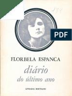 Diário Do Ultimo Ano Flobela Espanca