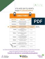 Centros de Verificación Morelos
