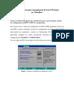 Cópia de Tutorial Maquina Virtual Linux