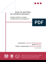 Reforma en Mat de Hidrocarburos (Análisis Jcos Soc y Amb en Prospectiva) (1)