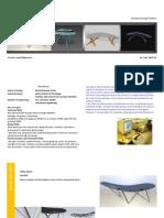 Jay Portfolio - Furniture Design