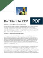 Rolf Hinrichs EEV Göttingen Windkraft