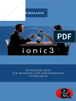 Ionic 3 - Leseprobe