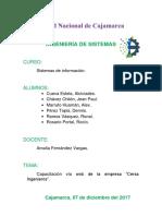 Proceso de Capatacion Web Sistemas de Informacion